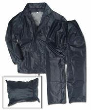 Regenanzug dunkelblau, Jacke+Hose! Nässeschutz, Camping, Outdoor       -NEU-