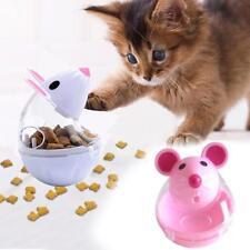 Cat Tumbler Toy Leakage Food Food Dispenser Mouse Shape Training Food Ball HOT T