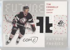 2002-03 SP Game Used Future Fabrics #TC Tim Connolly Buffalo Sabres Hockey Card