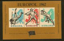 Exposición Hoja:1962 europol-interpolice Athletic campeonatos, Bruselas Perfecto