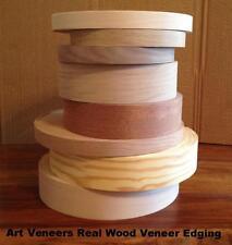 Wood Veneer Trim Pre Glued Iron on Edging Tape/Edge 18mm 22mm,30mm,40mm, & 50mm