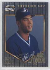 1996 Pinnacle Summit Foil #182 Felipe Crespo Toronto Blue Jays Baseball Card
