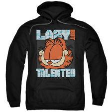 Garfield Lazy But Talented Black Adult Pullover Hoodie Sweatshirt - (2X-Large)