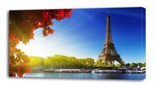 4 Sizes - Paris Sunrise CANVAS PRINT Wall Decor Art Giclee Nature Views Scenery