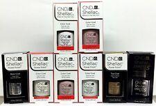 SHELLAC- CND GEL Polish - American French Kit 4pc x.25oz - Pick your favorite!
