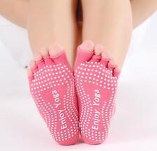Women Open Foot Toeless Half Toe Yoga Socks With Anti Slip Grip 1 Pair US Seller