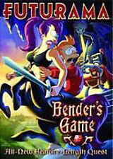 Futurama - Bender's Game (DVD, 2008) - D0430