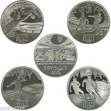 UEFA EURO 2012 Set of Coins Ukraine Ukrainian coins MC584