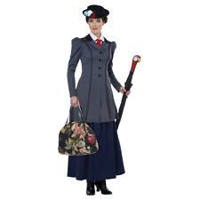 Womens English Nanny Mary Poppins Halloween Costume