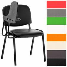 Stuhl Ken mit Klapptisch Seminarstuhl mit Schreibplatte Kunstleder Collegestuhl