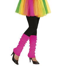 Widmann NEON PINKFARBENE STULPEN  Fasching Karnevall Halloween Dancewear 05826