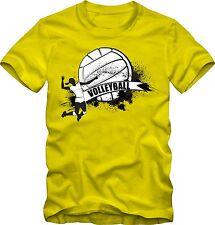 Volleyball T-Shirt   Motiv Volleyball Vereinsshirt  versch. Farben  DTG