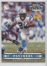 2002 Playoff Honors Xs #11 Lamar Smith Carolina Panthers Football Card