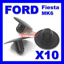 Ford Fiesta Mk6 Sombrero Clips Capucha aislamiento Forro cubriendo