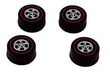 4 Brightvision Redline Wheels – 4 Large Hong Kong Bearing Style - Bright Chrome