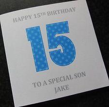 Personalised Boys Birthday Card Grandson/Nephew/Son/Broth er/Godson Any Age (G39)