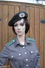 54-57,58,59 original DDR NVA Uniform Fallschirmjäger Barett Frauen Offiz. Mütze