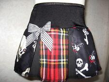 New Baby Girls Black,white,Red Pirates,Tartan,vampire Skulls Skirt,Goth,,Gift