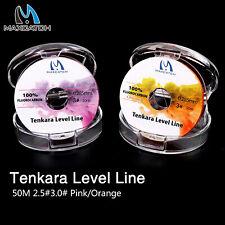 Maxcatch Tenkara Level Line 50M Fluorocarbon Fly Fishing Line