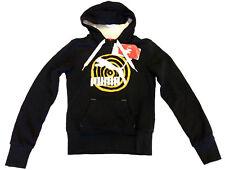 PUMA Originals Hoody black sweat jacket women felpa donna nera cod. 552418