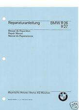 Vintage BMW Motorcycle R26, R27 Singles Shop Manual