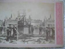 1800s FRANKFURT AM MAIN, GERMANY TWIN CITY STEREOVIEW