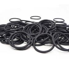 50/100pcs 2mm Oil Resistant NBR Nitrile Butadiene Rubber O-Ring OD8-80mm Sealing