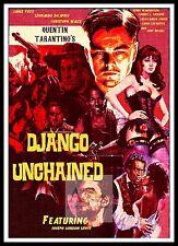 DJANGO UNCHAINED manifesto GRANDE FILM classici e film vintage
