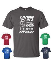 LIVING IN A VAN DOWN BY THE RIVER CHRIS FARLEY MATT FOLEY Tee Shirt