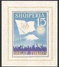Albania 1964 Olympic Games/Sports/Mt Fuji/Flag/Sun 1v m/s (n35560)