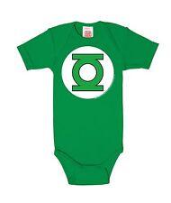 Body para bebé Linterna Verde - Logotipo - DC Comics - Green Lantern - Logo