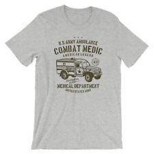 US Army Ambulance T-Shirt. 100% Cotton Premium Tee NEW