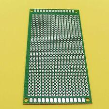 5 x 10cm SOLDERING fibra di vetro unilaterale 2,54 mm UNIVERSALE Circuito PCB