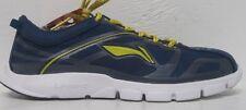 Li-ning Men Shoes Athletic Sneaker, Blue/Yellow, Sizes 8.5 & 12 US M