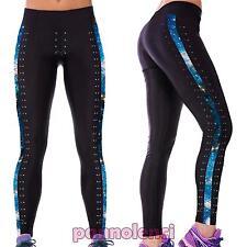 Leggings donna pantaloni yoga fitness leggins palestra running fuseaux DL-1868