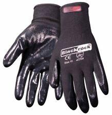 12 Pairs Blackrock 84302 Work Gloves Lightweight Super Grip Nitrile Palm Coating