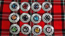 TC Men's Kilt Fly Plaid Brooches Celtic Design Various Colors/Ladies Brooch Pins
