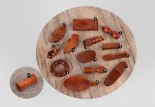 5 pcs/set Japanese Chopsticks Stand Natural Wooden Chopsticks Racks Holders