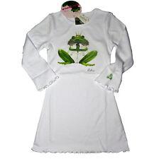 Balbina Nachthemd Swarovski weiß Frog Fredy Frosch grün Gr.  92 NEU