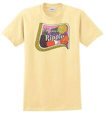 Ripple Pagan Pink Wine T-shirt.Gray,Khaki,White,Yellow. S-XXXL Free Ship to USA