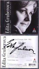 Edita GRUBEROVA Signiert Richard STRAUSS Lieder HAIDER CD Die Nacht Stern Malven