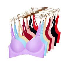 Seamless Bra Women No Wire Push up Brassiere Comfy Underwear SZ 36 B C Bow