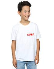 NASA Garçon Modern Logo Pocket T-Shirt