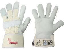 Arbeitshandschuhe Leder Rindvollleder Handschuhe Calcutta Stronghand 9/10,5/11