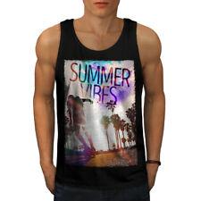 Summer Fun Hawaii Holiday Men Tank Top NEW | Wellcoda