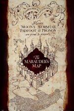 Harry Potter Poster Karte des Rumtreibers 61x91.5cm. Offiziell lizenziert