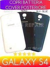 COVER COPRIBATTERIA POSTERIORE BIANCO NERO BLU SAMSUNG GALAXY S4 I9505 I9515 VE