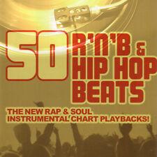 CD 50 RnB and Hip Hop Beats von Various Artists  3CDs