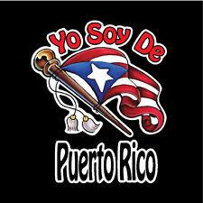 PUERTO RICO Puerto Rican CAR DECAL TOWN STICKER Rio Grande ~ Yauco