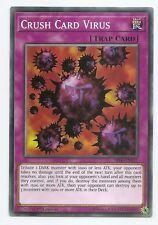 Crush Card Virus SR06-EN031 Common Yu-Gi-Oh Card English 1st Edition New